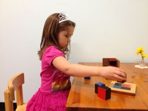 child and trinomial cube